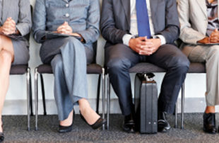 Candidates Sitting - Time to Hire - Conducting Group Interviews