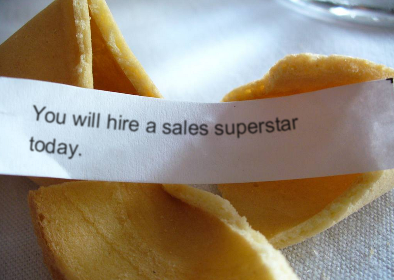 you will hire a sales superstar today