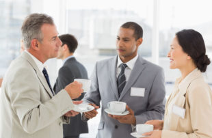 Business Meeting - Time to Hire - Broadening client base by networking